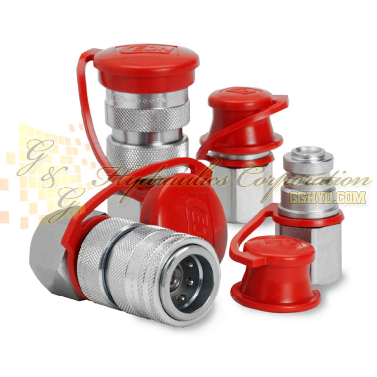 "10-218-1434 CEJN Quick Disconnect Coupling, 3/8"" Female Thread NPT Connection, 14503 PSI (1000 bar)"