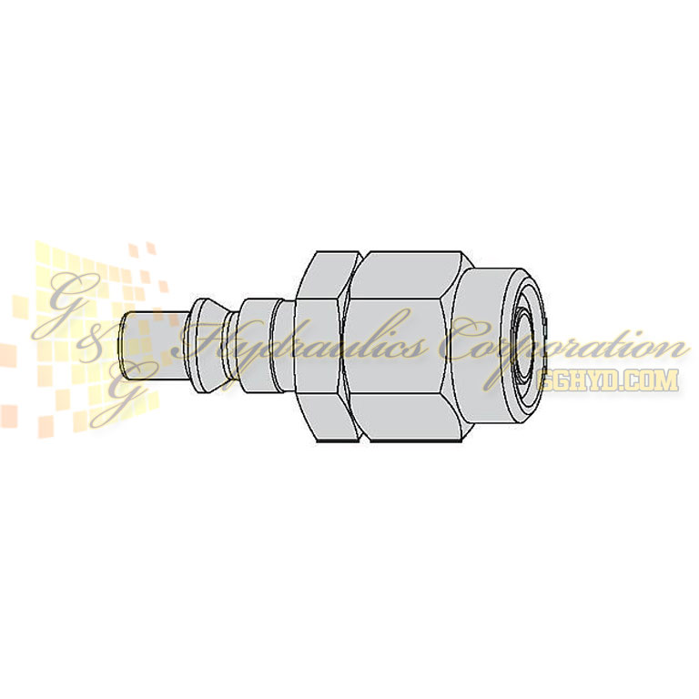 "10-300-5060 CEJN Quick Disconnect Nipple, 1/4"" (6.5x10 mm) Stream-Line Connection, 232 PSI (16 bar)"