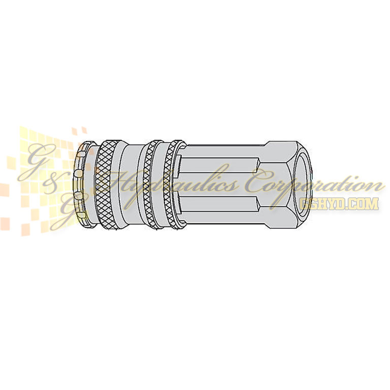 "10-310-1404 CEJN Quick Disconnect Coupler, 3/8"" NPT Female Threads, 232 PSI (16 bar)"