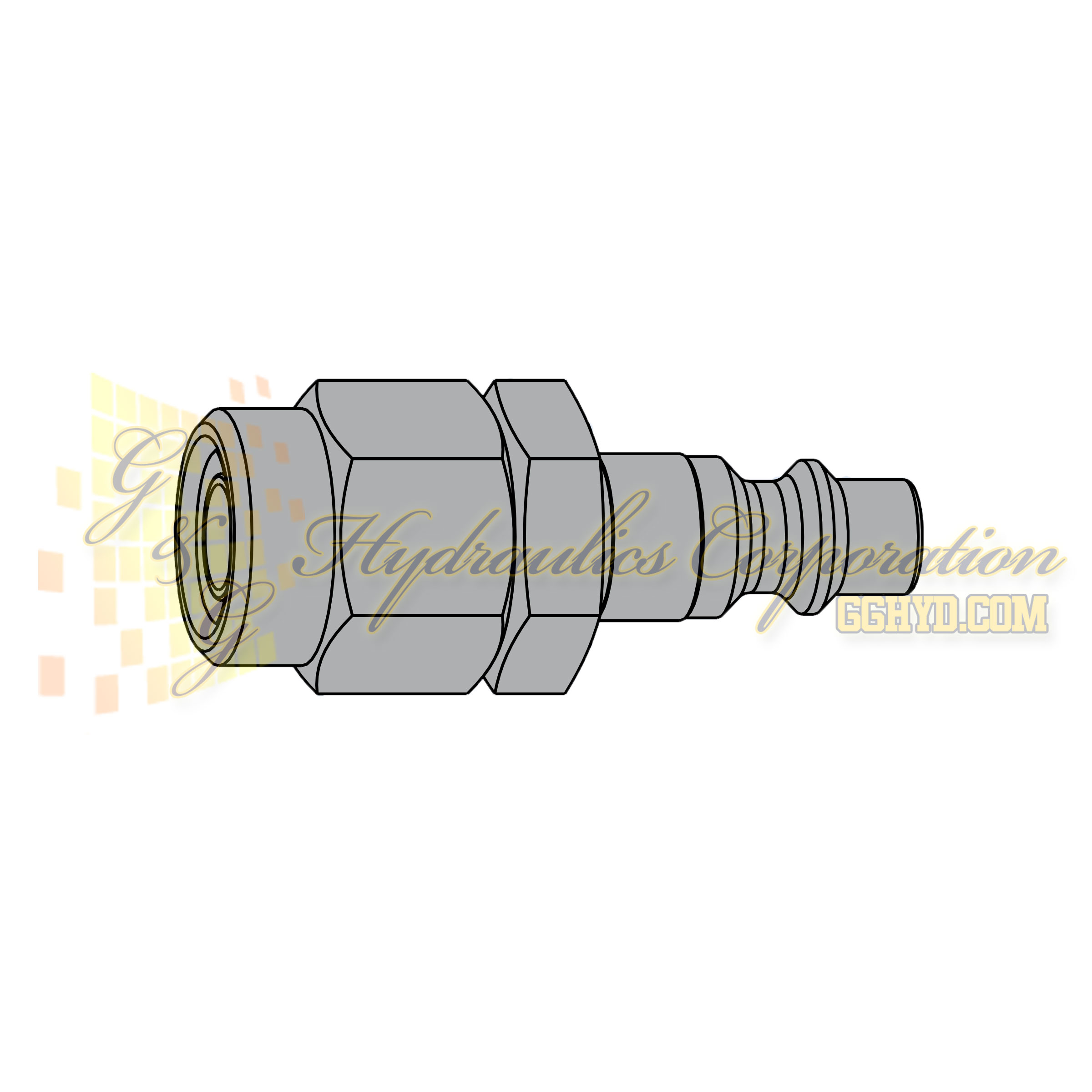 10-310-2063 CEJN Quick Disconnect eSafe Vented Safety Coupler, 9.5 x 13.5 mm Stream-Line connection, 232 PSI (16 bar)