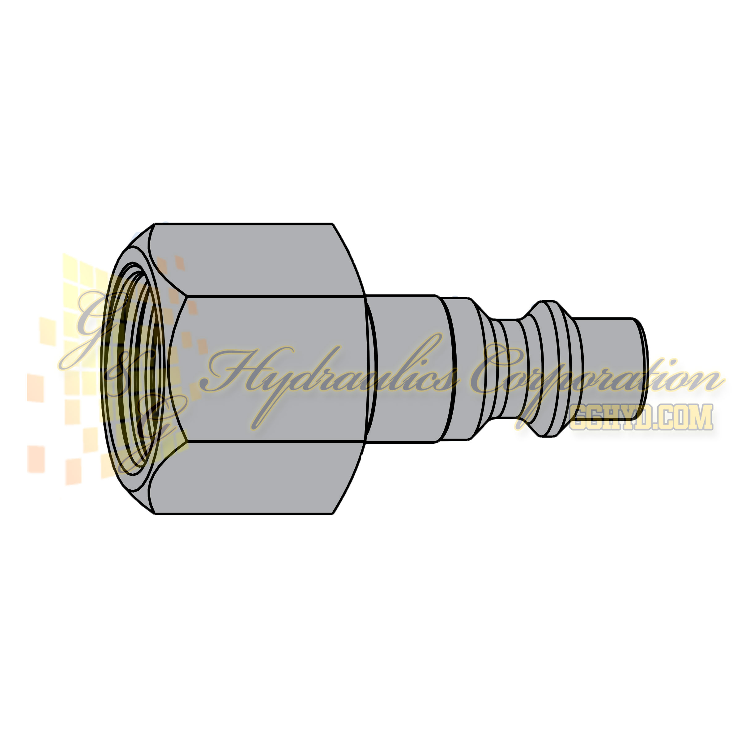 "10-310-5202 CEJN Quick Disconnect Nipple, 1/4"" BSPP Female Threads, 232 PSI (16 bar)"
