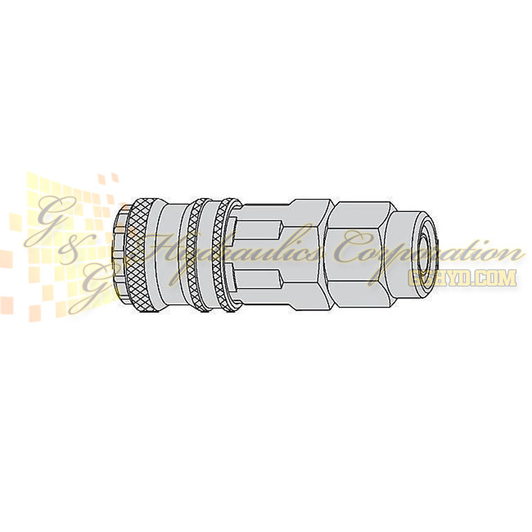 "10-315-1066 CEJN Quick Disconnect Coupler, 7/16"" (11x16 mm) Stream-Line Connection, 232 PSI (16 bar)"