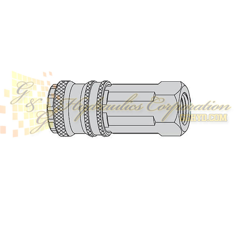 "10-315-1102 CEJN Quick Disconnect Coupler, 1/4"" Female BSPP Connection, 232 PSI (16 bar)"