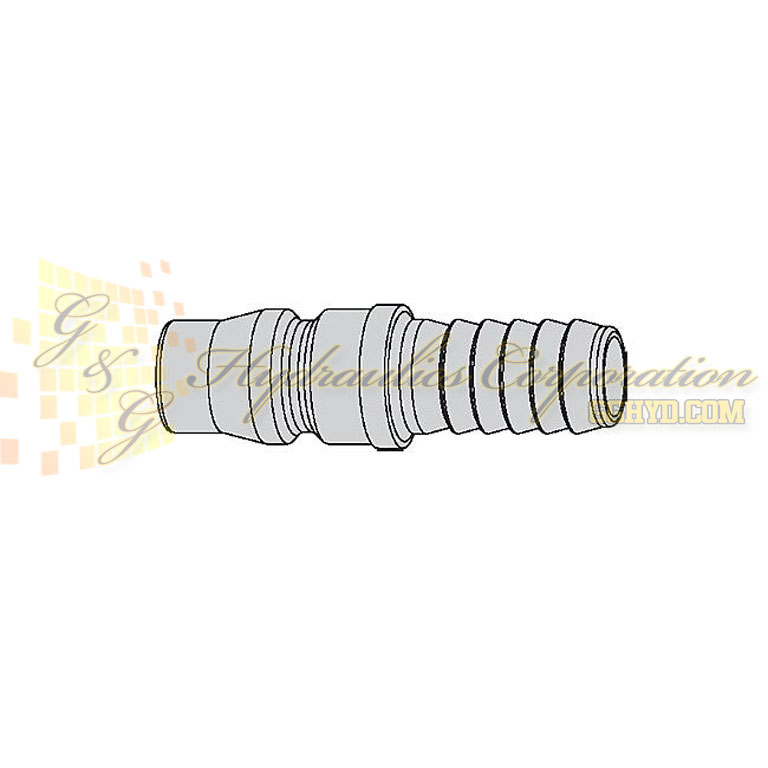 "10-315-5043  CEJN Quick Disconnect Nipple, 5/16"" Hose Barb Connection, 232 PSI (16 bar)"