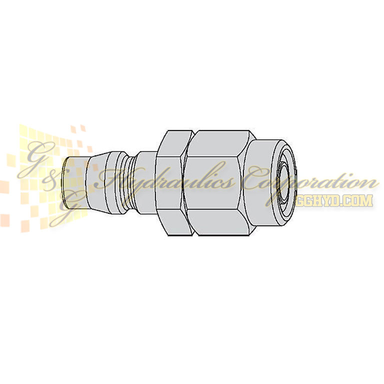 "10-315-5062  CEJN Quick Disconnect Nipple, 5/16"" (8x12 mm) Stream-Line Connection, 232 PSI (16 bar)"