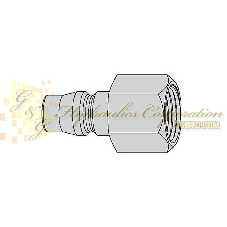 "10-315-5402  CEJN Quick Disconnect Nipple, 1/4"" Female NPT Connection, 232 PSI (16 bar)"