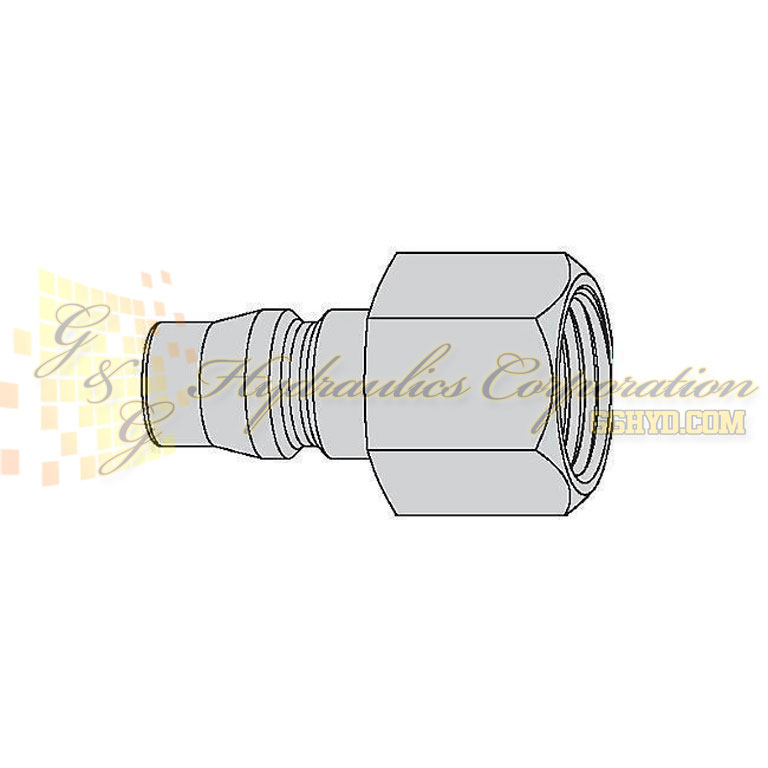 "10-315-5405  CEJN Quick Disconnect Nipple, 1/2"" Female NPT Connection, 232 PSI (16 bar)"