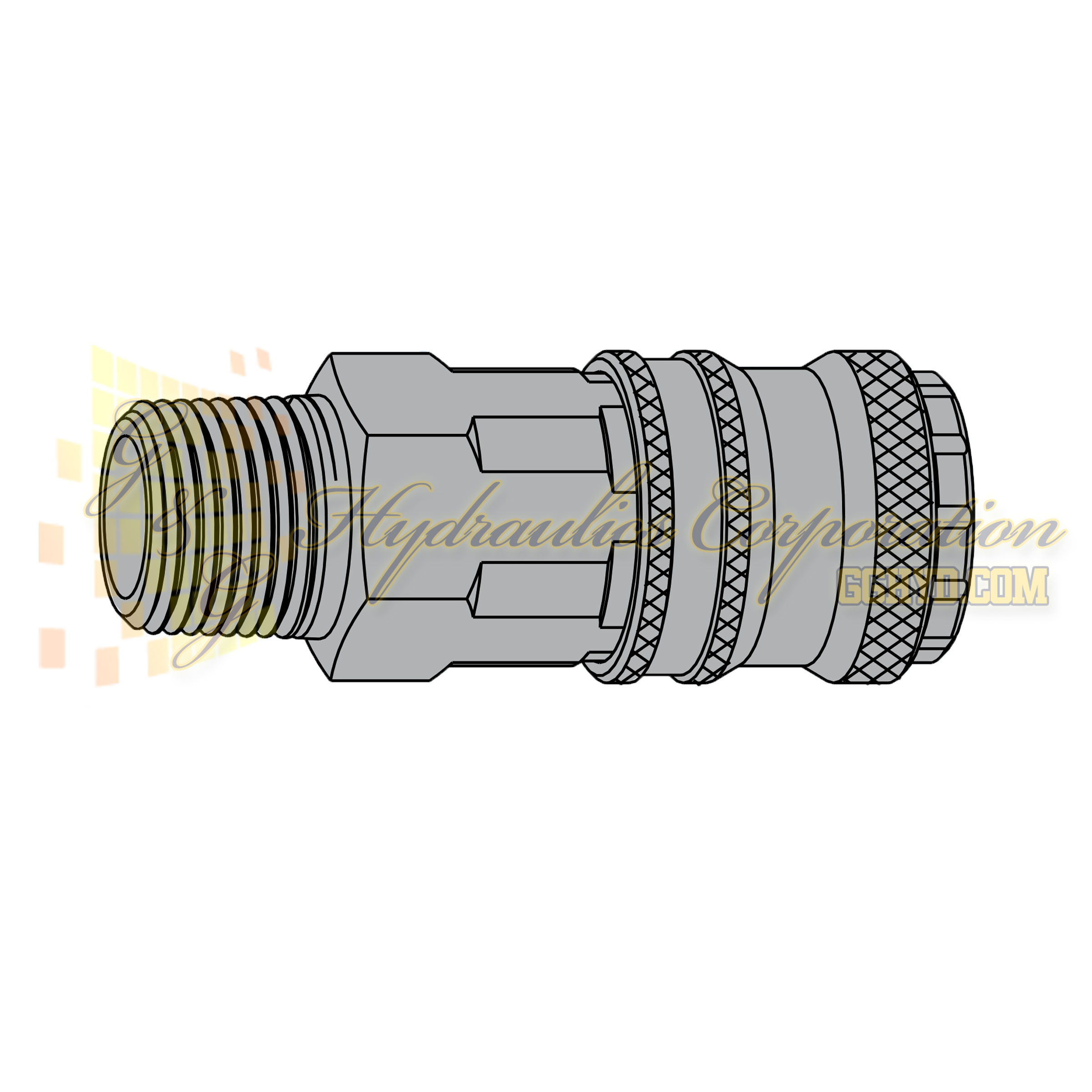 "10-320-1452 CEJN Standard and Vented Safety Coupler, 1/4"" NPT Male Threads"