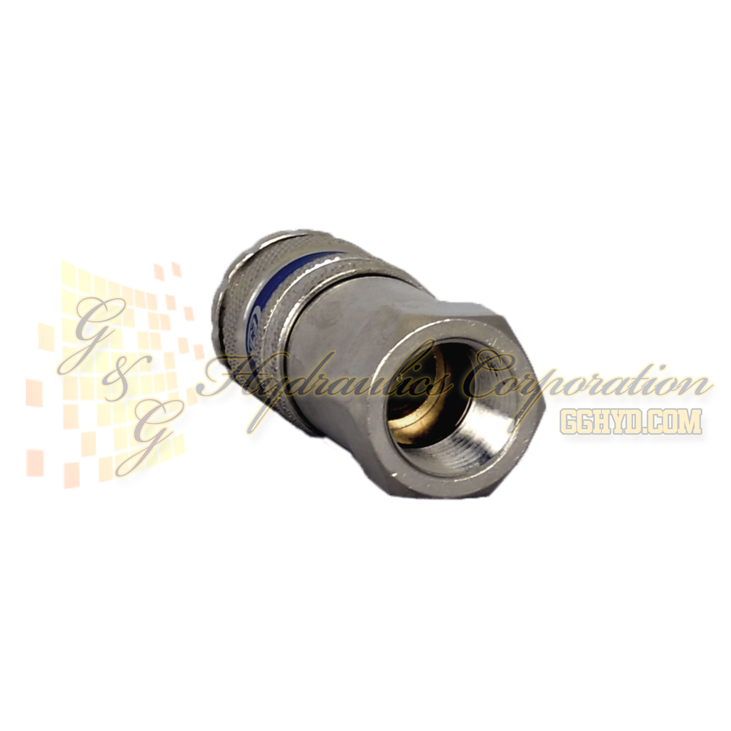 "10-320-1404 CEJN Standard and Vented Safety Coupler, 3/8"" NPT Female Threads"