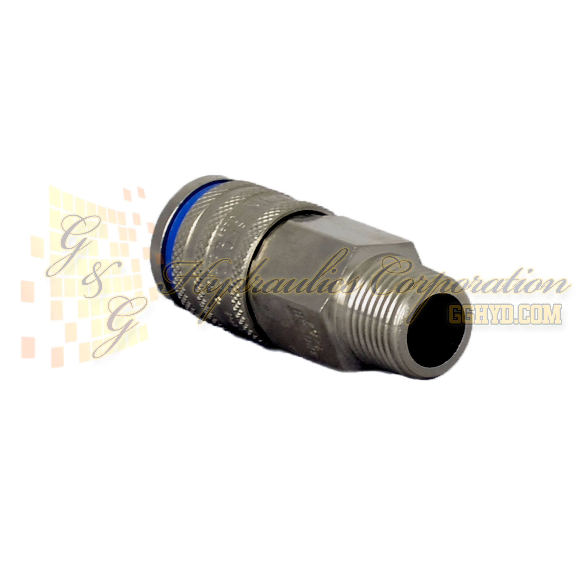 "10-320-1454 CEJN Standard and Vented Safety Coupler, 3/8"" NPT Male Threads"