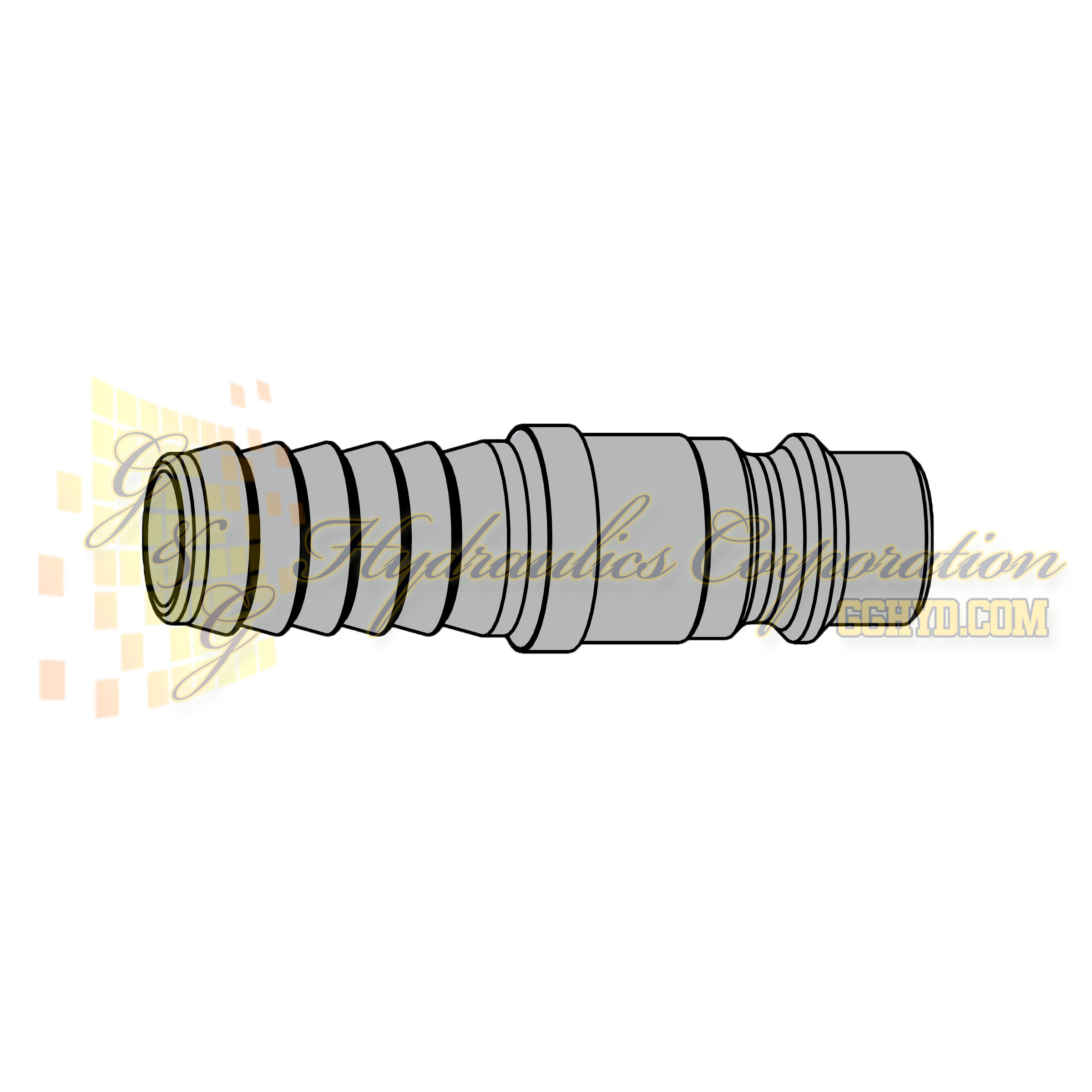 "10-320-5004 CEJN Standard Nipple, 10mm (3/8"") Hose Connection"
