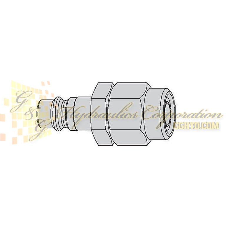 "10-320-5062 CEJN Quick Disconnect Nipple, 5/16"" (8x12 mm) Stream-Line Connection, 232 PSI (16 bar)"