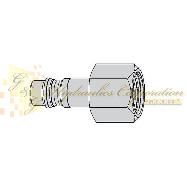 "10-342-5452 CEJN Quick Disconnect Nipple, 1/4"" Male NPT Connection, 507 PSI (35 bar)"