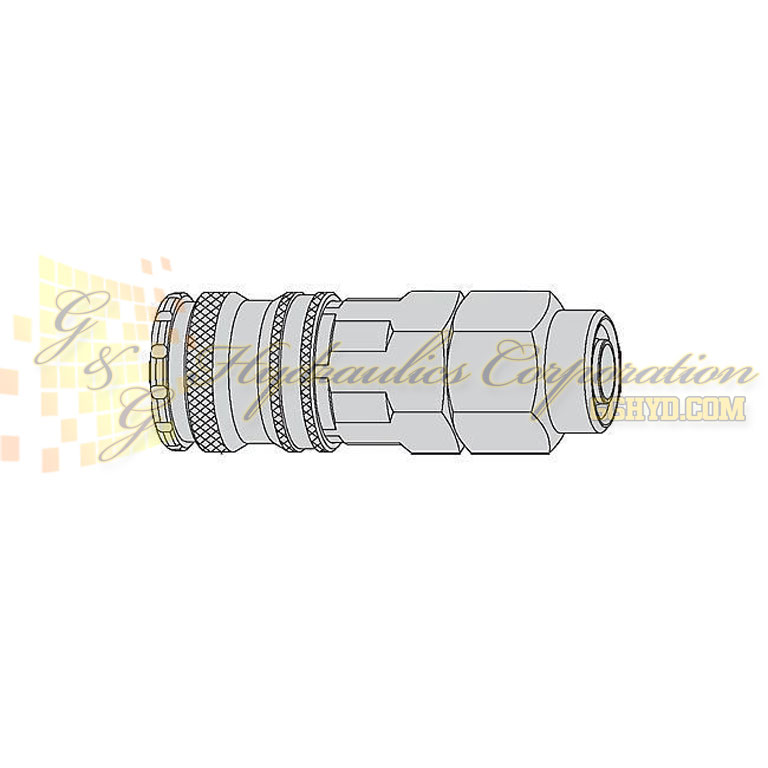 "10-430-1066 CEJN Quick Disconnect Coupling, 7/16"" (11x16 mm) Stream-Line Connection, 232 PSI (16 bar)"