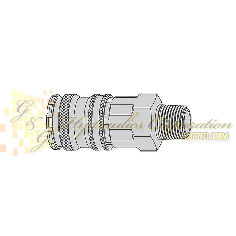 "10-430-1157 CEJN Quick Disconnect Coupling, 3/4"" Male BSPT Connection, 232 PSI (16 bar)"