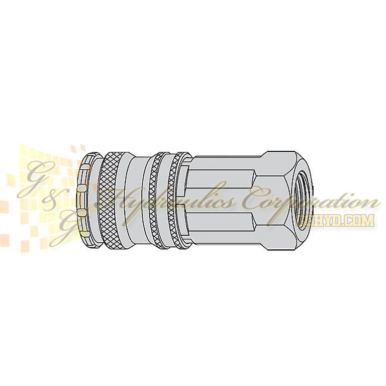 "10-430-1404 CEJN Quick Disconnect Coupling, 3/8"" FeMale NPT Connection, 232 PSI (16 bar)"