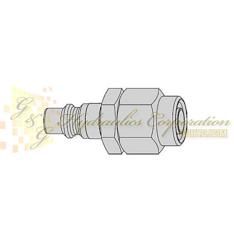 "10-430-5066 CEJN Quick Disconnect Nipple, 7/16"" (11x16 mm) Stream-Line Connection, 232 PSI (16 bar)"