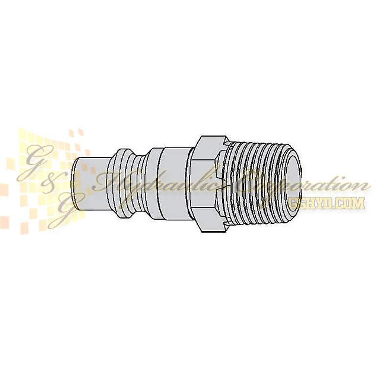 "10-430-5455 CEJN Quick Disconnect Nipple, 1/2"" Male NPT Connection, 232 PSI (16 bar)"