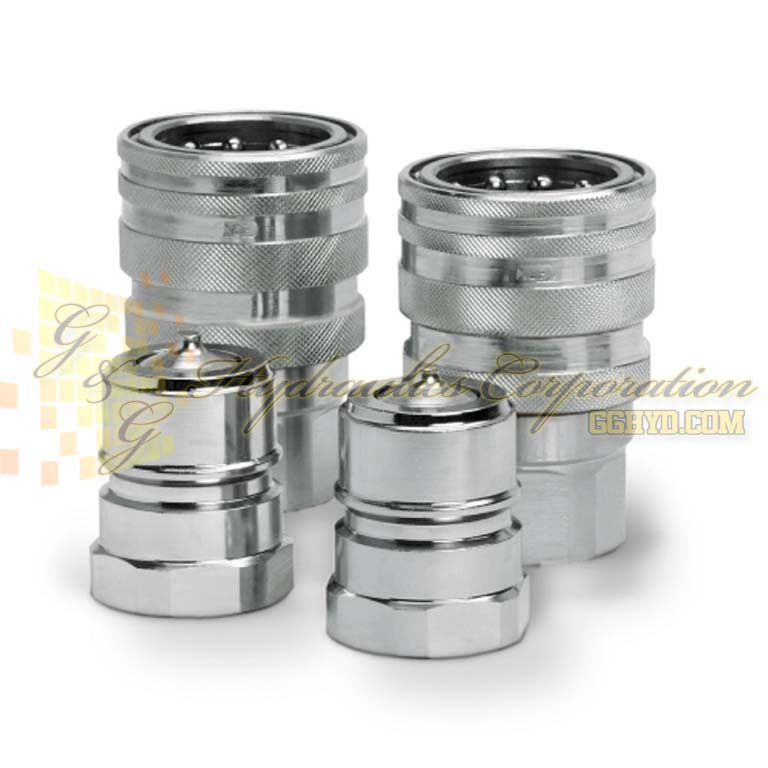 "10-526-1217 CEJN Series 526, DN 20 Couplings Female Thread G 3/4"" Connection FPM"