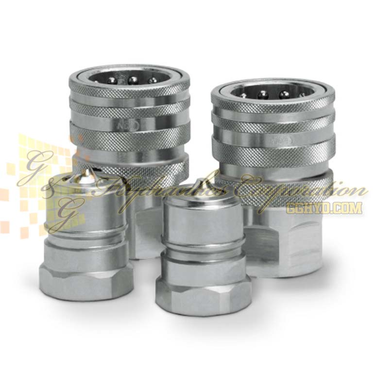 "10-526-1219 CEJN Series 526, DN 25 Couplings Female Thread G 1"" Connection FPM"