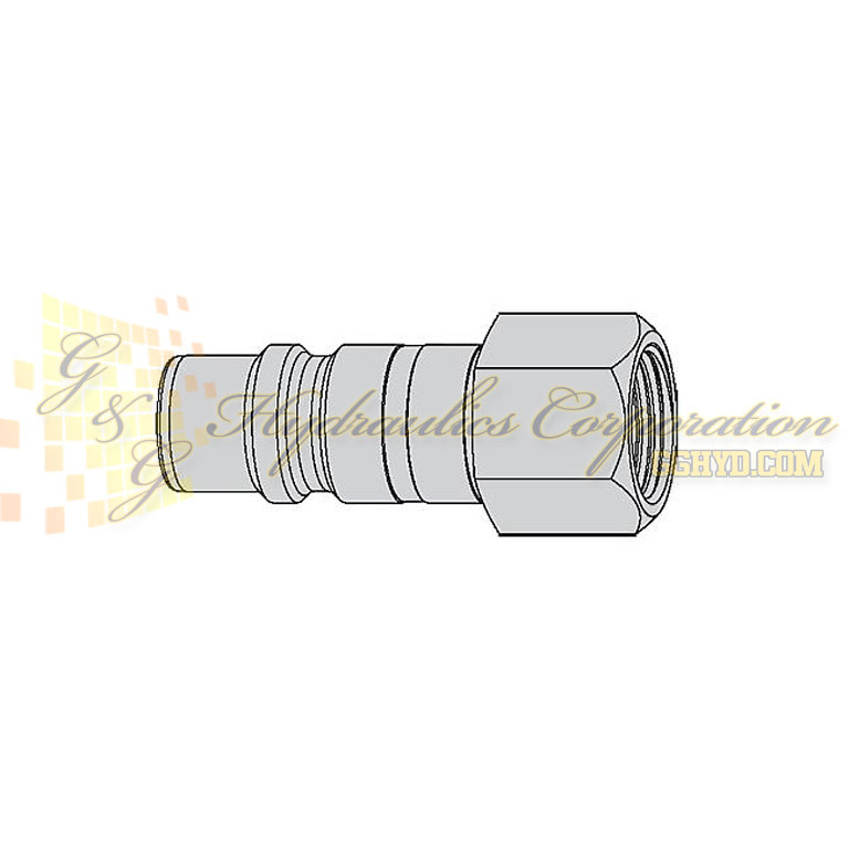 "10-550-5407 CEJN Quick Disconnect Nipple, 3/4"" Female NPT Connection, 232 PSI (16 bar)"