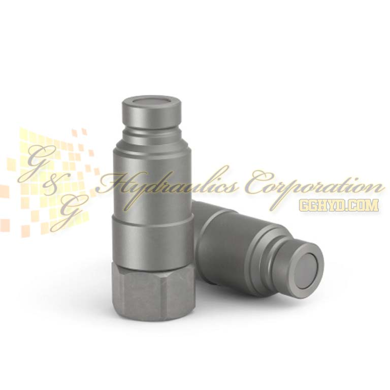 "10-664-6101 CEJN Series 664, Nipples With Pressure Eliminator Female Thread RC 3/4"" (BSPT) Connection"