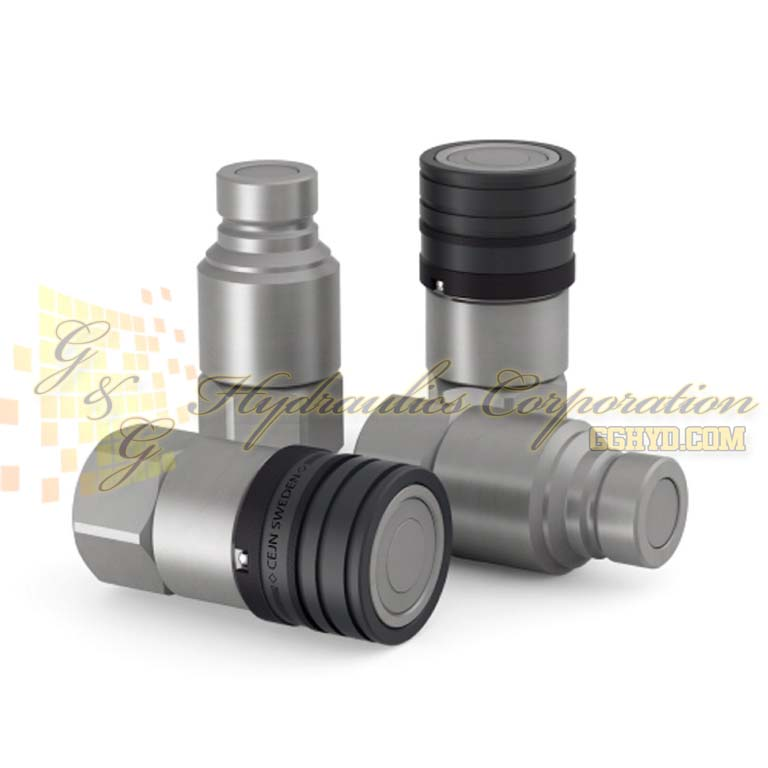 "10-765-6201 CEJN Series 765, DN19 Steel Nipples Female Thread G 3/4"" (BSP) Connection"