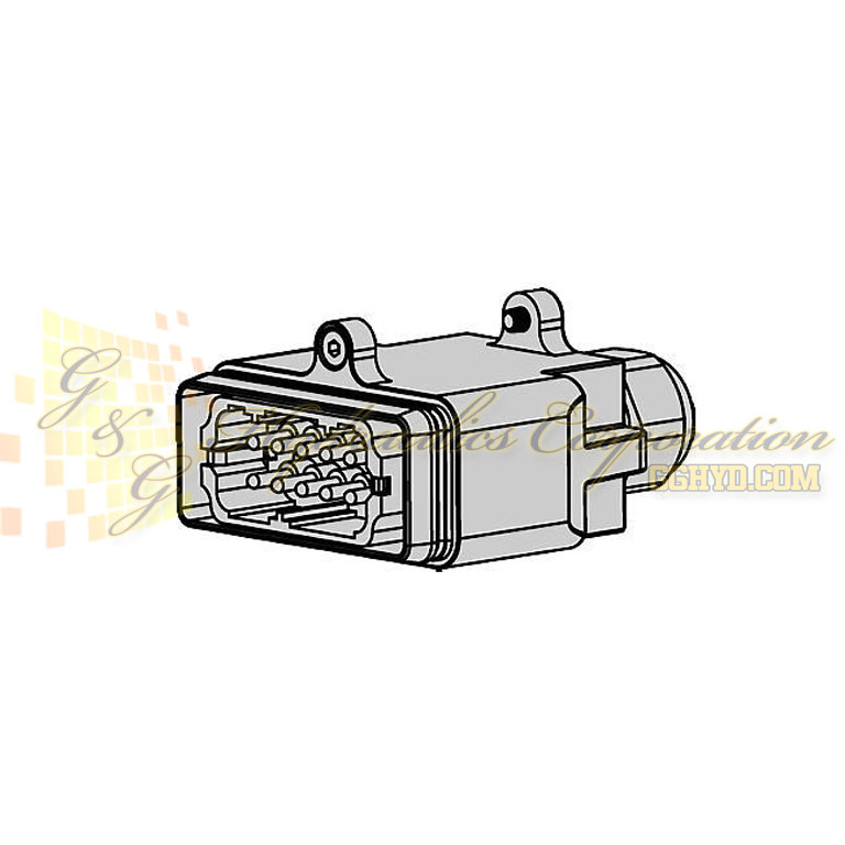 10-932-0052 CEJN Electric Connector For Male Plate