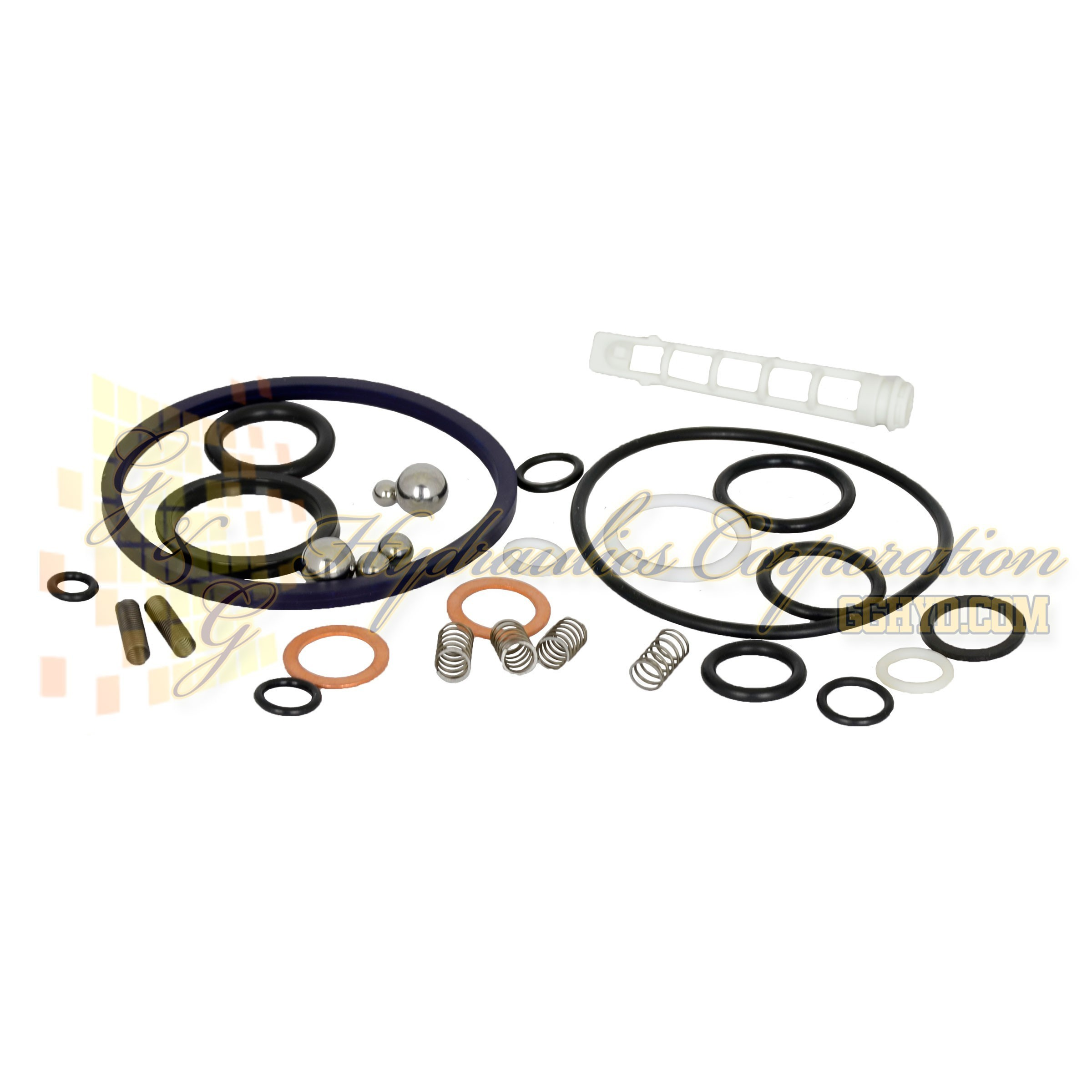 300883 SPX Power Team Seal Kit for Hydraulic PA64 Series Air Pump, Single or Double-Acting UPC #662536303088
