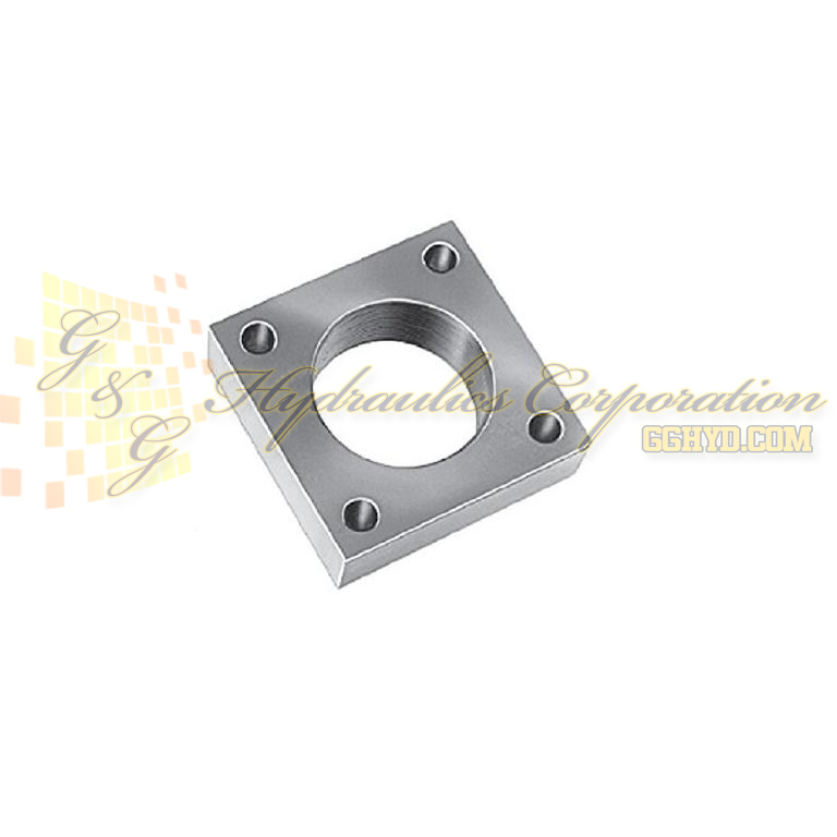 350099 SPX Power Team Cylinder Mounting Plate Accessories, 5 Ton UPC #662536158329