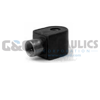 72218BN5VN00N0C111B2 Parker Skinner 2-Way Normally Closed Internal Pilot Operated Brass Solenoid Valve 24/60V AC Conduit Housing-1