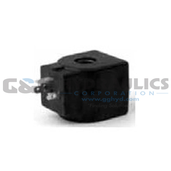 73218BN4UN00N0D100P3 Parker Skinner 2-Way Normally Closed Pilot Operated Internal Pilot Supply Brass Solenoid Valve 120/60-110/50V AC DIN Housing-1