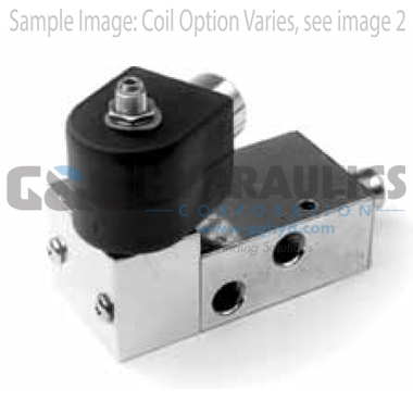 73317BN2PN00N0H222P3 Parker Skinner 3-Way Normally Closed Internally Pilot Operated Brass Solenoid Valve 120/60-110/50V Hazardous Housing-1