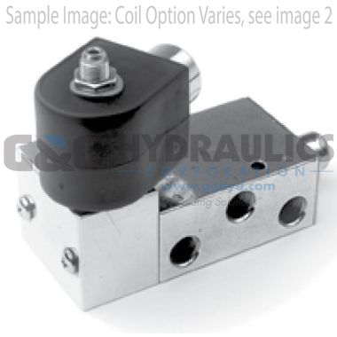 73417BN2PN00N0C111C1 Parker Skinner 4-Way 2 Position Single Operator Brass Solenoid Valve 12V DC Conduit Housing-1