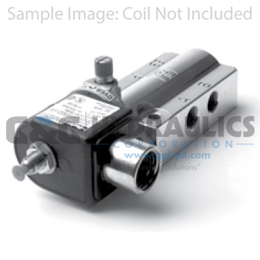 73419AN2NNM0 Parker Skinner 4-Way 2 Position Single Solenoid Aluminum Vessel