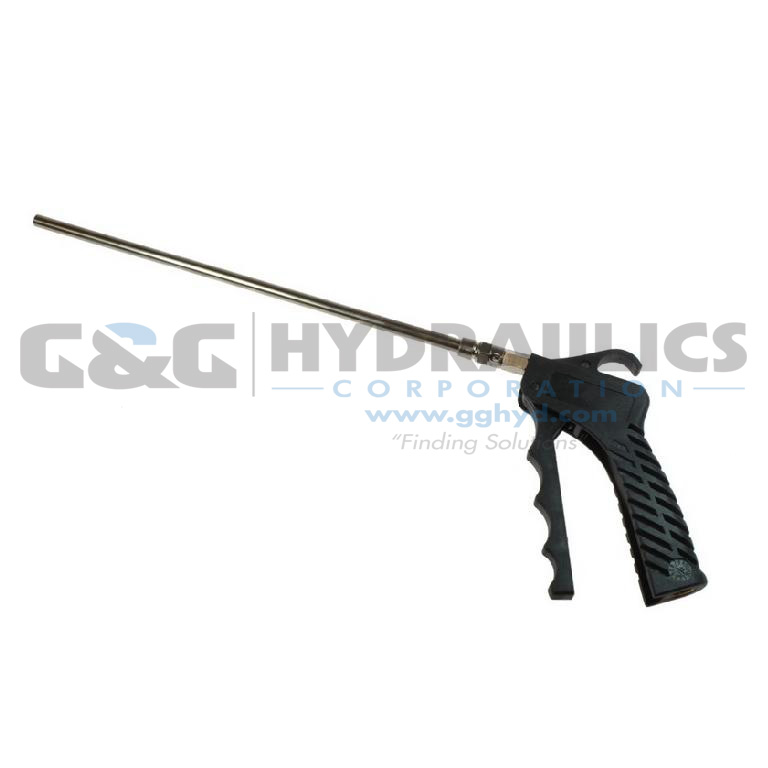 "771-10S Coilhose Variable Control Pistol Grip Blow Gun with 10"" Safety Extension UPC #029292924252"