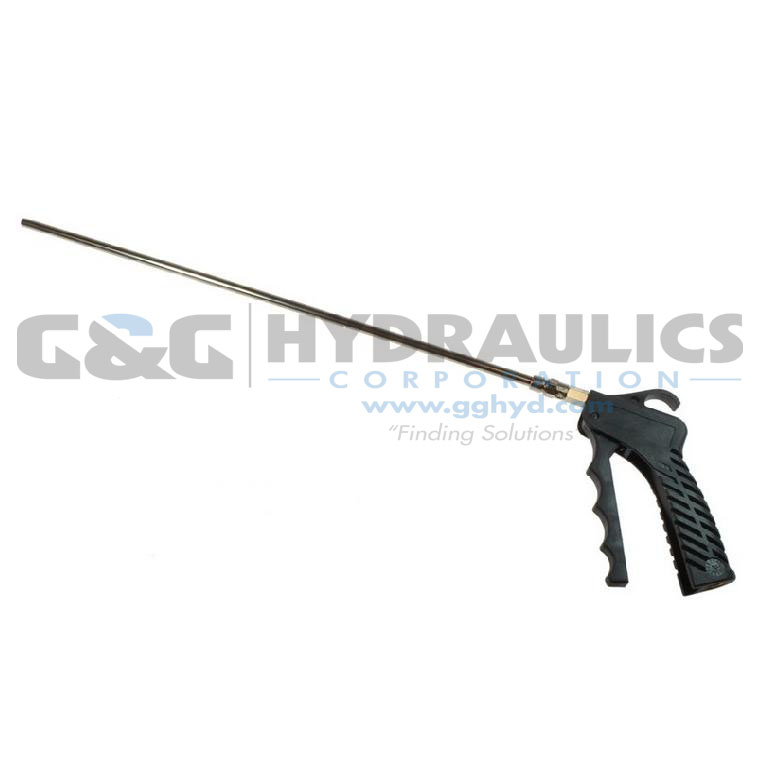 "771-24S Coilhose Variable Control Pistol Grip Blow Gun with 24"" Safety Extension UPC #029292924290"