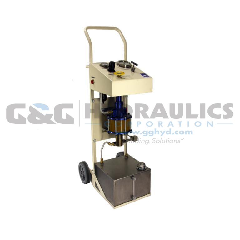 97-5000W100-HF4 SC Hydraulic Power Unit, Aluminum/Bronze, 10-5 Series Pump, 195:1 Ratio
