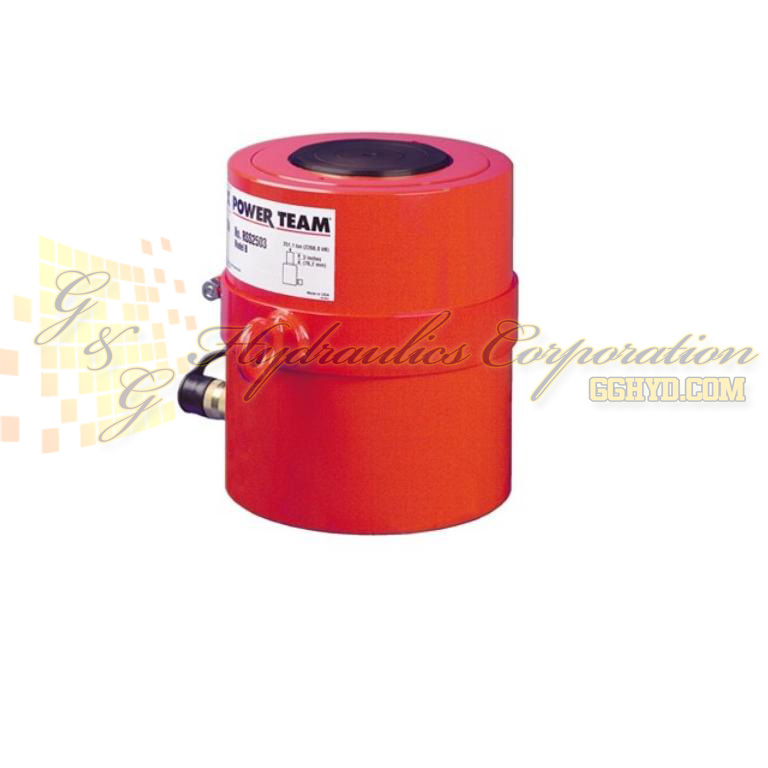 "RSS2503 SPX Power Team Cylinder, 250 Ton, 3"" Stroke UPC #662536003575"