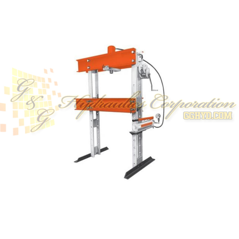 SPA2514 SPX Power Team Shop Press, Air, 25 Ton, 1.2-9.8 In/Min Single Acting UPC #662536003704