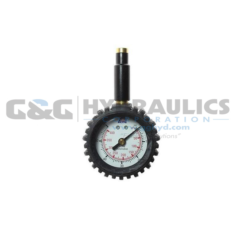 A531-BL Coilhose Promo Dial Tire Gauge, 0-60 lbs, Display UPC #048232105315