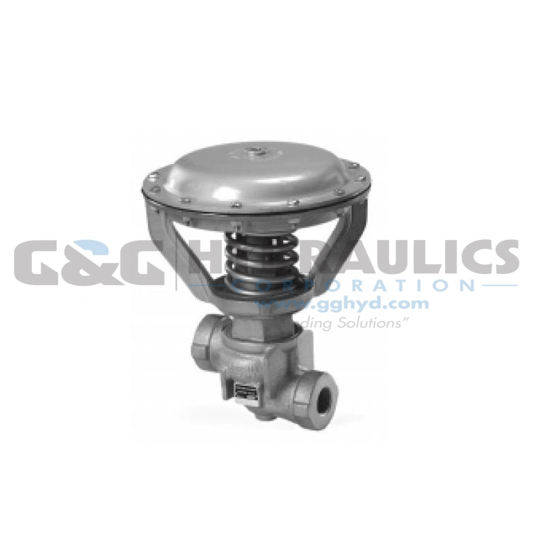 "C294-4004 Parker Sinclair Collins Valves 2-Way Normally Open Hard Seat Valve, 500 psi, 1-1/4"" NPTF Ports"