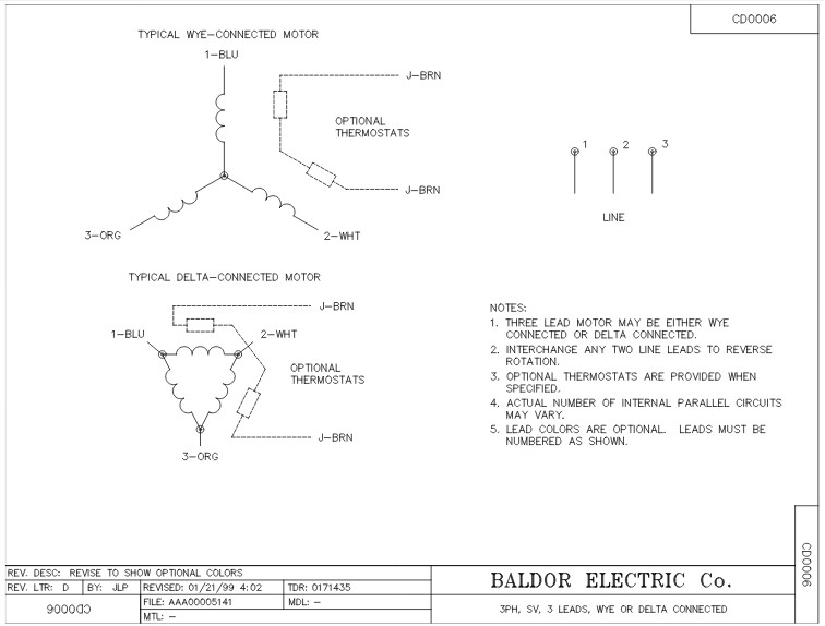 Cem T Baldor Three Phase Totally Enclosed C Face Foot Mounted Hp Rpm Tc Frame Upc on Marathon Electric Motor Wiring