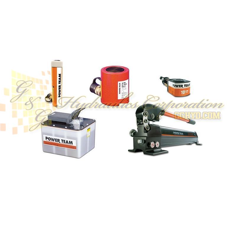 CPS-RLS100-P19L-06FD SPX Power Team Cylinder & Pump Set, 10 Ton 0.438'' Stroke