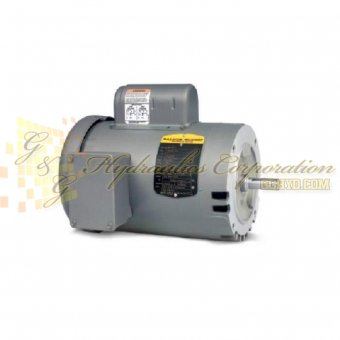VEL11301 Baldor Single Phase Open,C-Face, Footless, Drip Cover 1/3HP, 1740RPM, 56C Frame UPC #781568764800