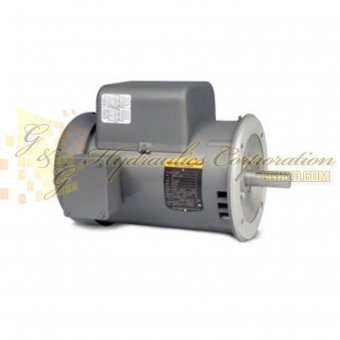 VL1322T Baldor Single Phase Open,C-Face, Footless, Drip Cover 2HP, 1725RPM, 145TC Frame UPC #781568110935