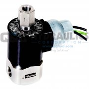"20CF04LV7C7B Parker G7, 2-Way Normally Open, 1/4"" NPT, Direct Acting Stainless Steel Solenoid Valve"