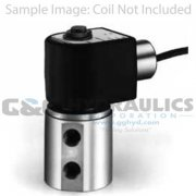 "71221SN1MM00 Parker Skinner 2 Way Normally Open 1/8"" NPT Direct Acting Stainless Steel Pressure Vessel (Valve Body)"
