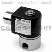 "71225SN2GF00 Parker Skinner 2 Way Normally Open 1/4"" NPT Direct Acting Stainless Steel Pressure Vessel (Valve Body)"