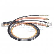 "9764 SPX Power Team Hose, PU With M QCK Coupler 0.25"" Internal Dia, 6' Length UPC #662536128506"